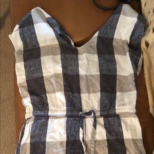 Very cute checked romper. Old Navy size medium.